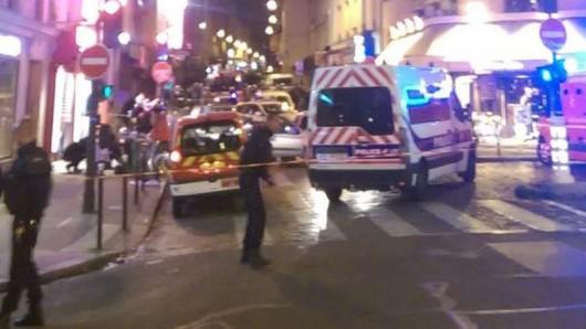 Francja - Eksplozje w Paryżu