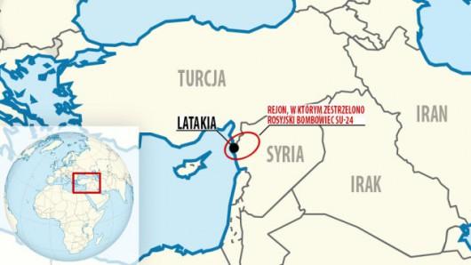 Gorąca granica turecko-syryjska Źródło: tvn24.pl