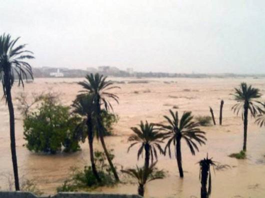 Jemen - Cyklon Chapala przyniósł tyle opadów deszczu, ile normalnie pada w ciągu 10 lat -10
