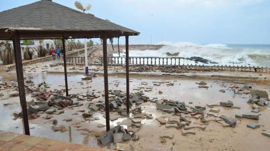 Jemen - Cyklon Chapala przyniósł tyle opadów deszczu, ile normalnie pada w ciągu 10 lat -3