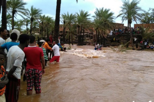 Jemen - Cyklon Chapala przyniósł tyle opadów deszczu, ile normalnie pada w ciągu 10 lat -4
