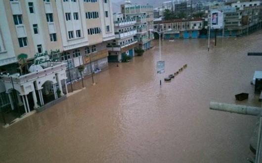 Jemen - Cyklon Chapala przyniósł tyle opadów deszczu, ile normalnie pada w ciągu 10 lat -5