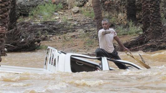 Jemen - Cyklon Chapala przyniósł tyle opadów deszczu, ile normalnie pada w ciągu 10 lat -7