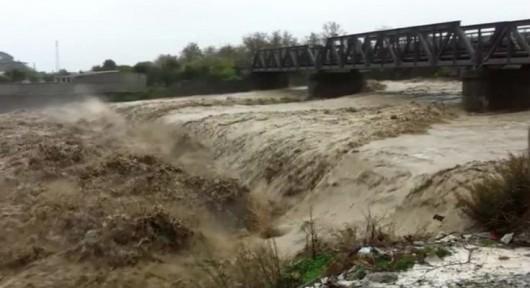 Kalabria, Włochy - Ulewne deszcze -13
