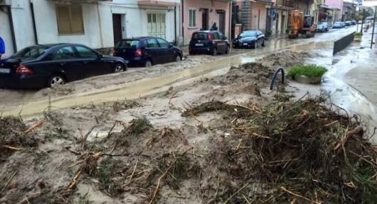 Kalabria, Włochy - Ulewne deszcze -14