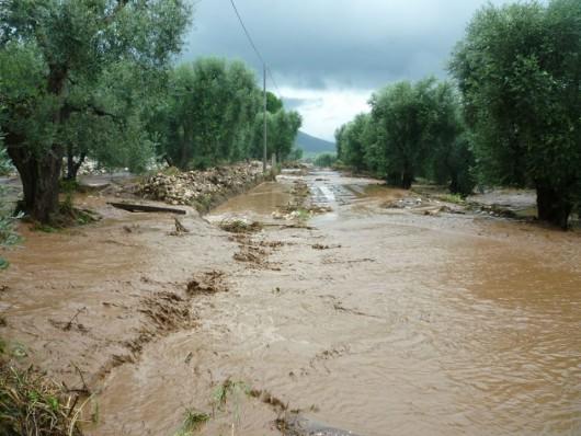Kalabria, Włochy - Ulewne deszcze -9