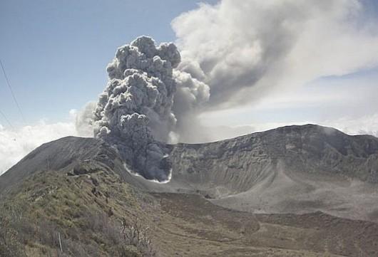 Kostaryka - Wzrasta aktywność wulkanu Turrialba -1