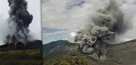 Kostaryka - Wzrasta aktywność wulkanu Turrialba -2