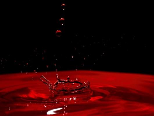 Krwawy deszcz