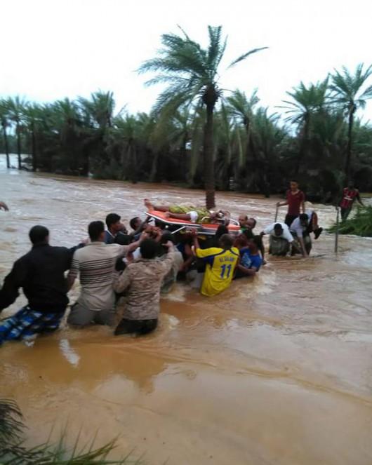 Na Morzu Arabskim pojawił się kolejny potężny cyklon i już uderzył w Jemen zabijając 6 osób 2