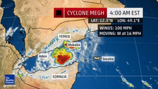 Na Morzu Arabskim pojawił się kolejny potężny cyklon i już uderzył w Jemen zabijając 6 osób