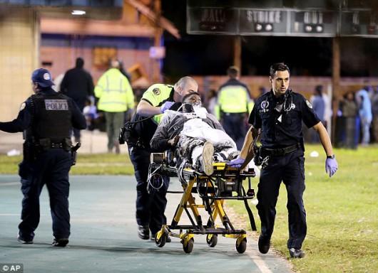 Nowy Orlean, USA - W parku rozrywki napastnicy zaczęli strzelać do ludzi, 16 osób rannych -2