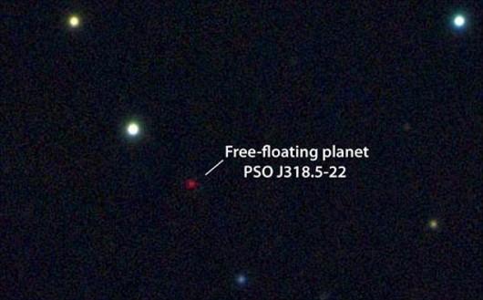 Planeta bez gwiazdy PSO J318.5-22 -2