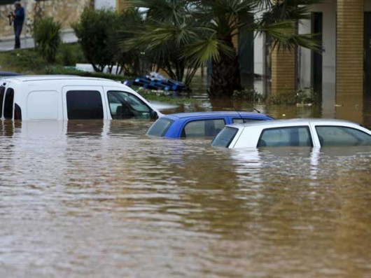Portugalia - Ulewne deszcze i silny wiatr w prowincji Algarve -10