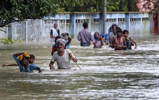 Powódź - Indie -1