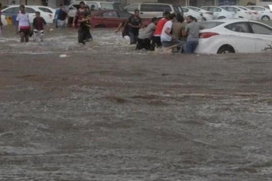 Powódź w Arabii Saudyjskiej -2