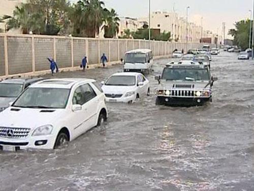 Powódź w Arabii Saudyjskiej -3