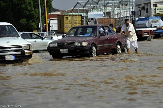 Powódź w Arabii Saudyjskiej -4