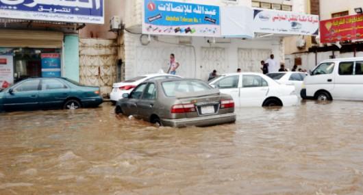 Powódź w Arabii Saudyjskiej -8