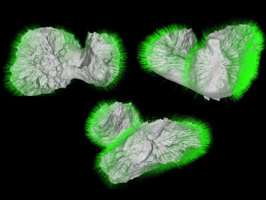Rosetta_67P_grawitacja