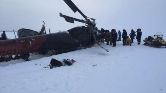 Rosja - Helikopter rozbił się na Syberii, 15 ofiar -2