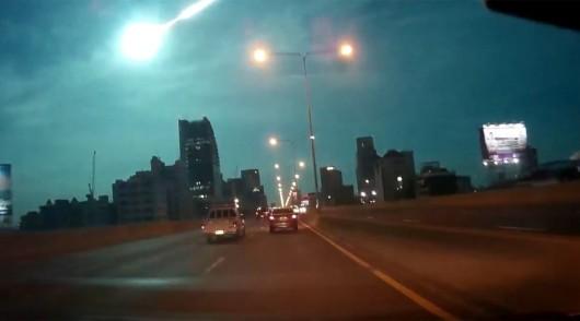 Tajlandia - Nad Bangkokiem przeleciał Meteor -2