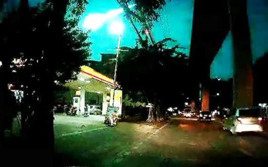 Tajlandia - Nad Bangkokiem przeleciał Meteor -3