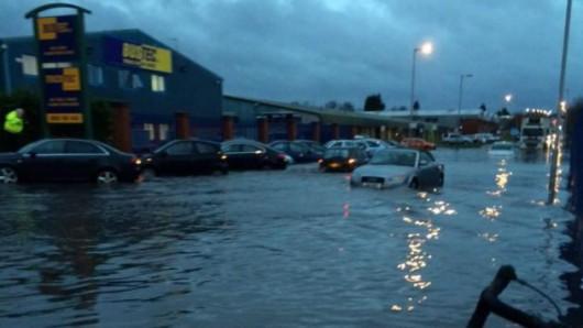 UK - Cyklon Abigail dotarł na Wyspy