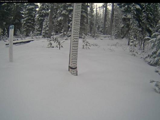 USA - Śnieg zaskoczył mieszkańców słonecznej Kalifornii