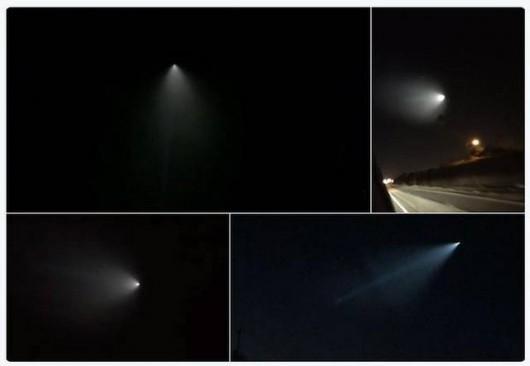 USA - Do dziwnego obiektu na niebie w Kalifornii przyznało się wojsko -2
