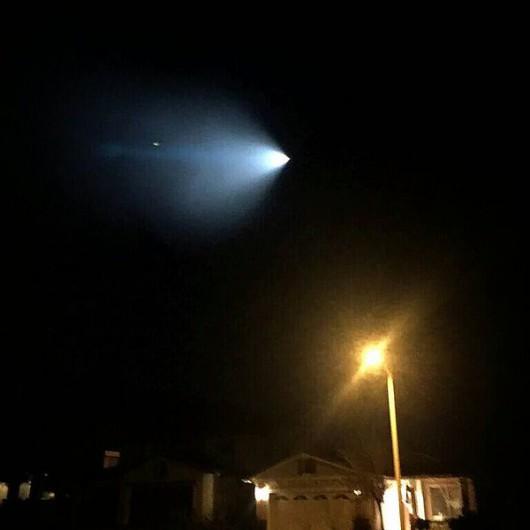 USA - Do dziwnego obiektu na niebie w Kalifornii przyznało się wojsko -3