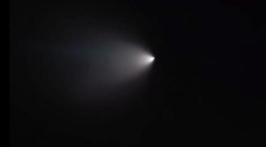 USA - Do dziwnego obiektu na niebie w Kalifornii przyznało się wojsko