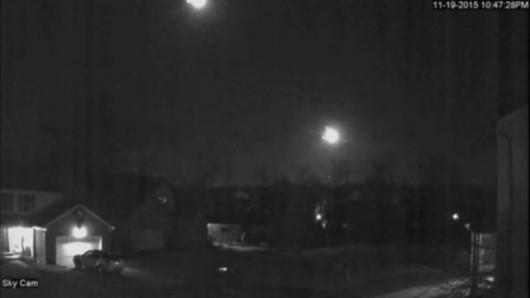 USA - Kula ognia na niebie widoczna w kilku stanach