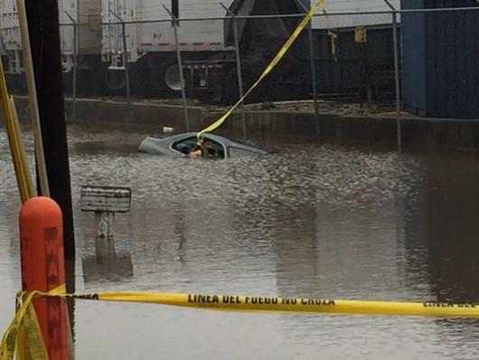 USA - Rekordowe opady w Garland w Teksasie -3