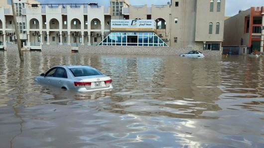 USA - Rekordowe opady w Garland w Teksasie -4