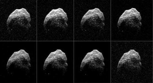 Za pomocą ogromnych anten zobrazowano asteroidę 2015 TB145