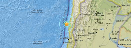 trzęsienie w Chile