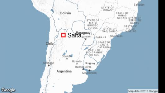 Argentyna - Autobus z funkcjonariuszami żandarmerii spadł z mostu -3