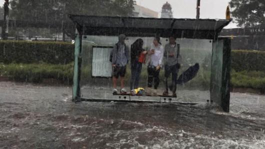 Australia - Superkomórka burzowa i tornado nad Sydney -3