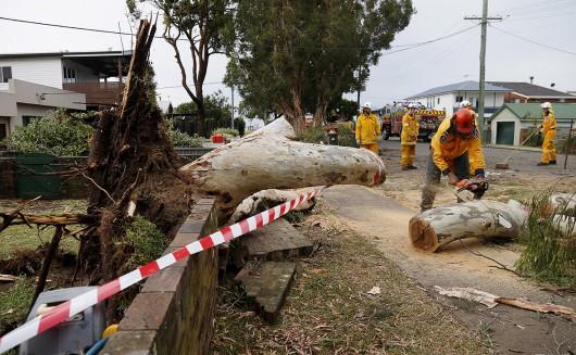 Australia - Superkomórka burzowa i tornado nad Sydney -8