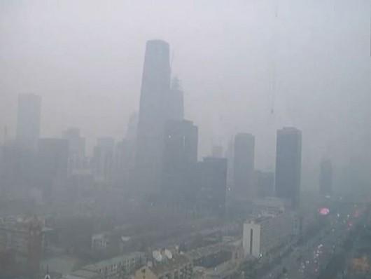 Chiny - smog