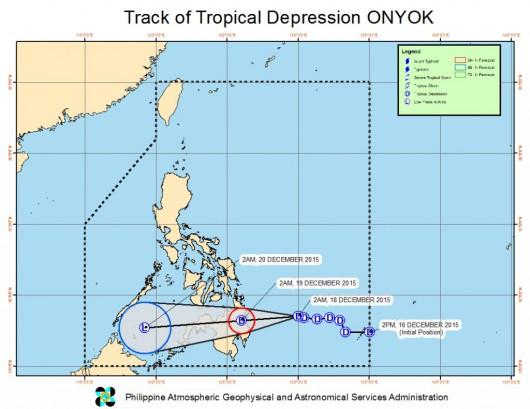 Depresja tropikalna Onyok