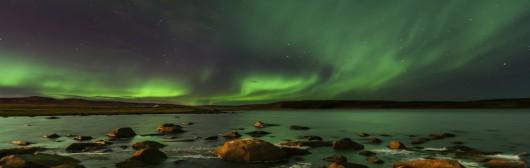 Dzisiejsze zorze polarne w pobliżu bieguna -8