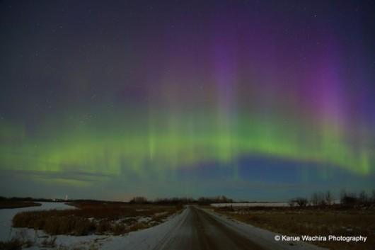 Dzisiejsze zorze polarne w pobliżu bieguna -9