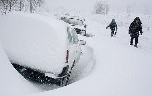 Kamczatka, Rosja - Ogromna śnieżyca -2