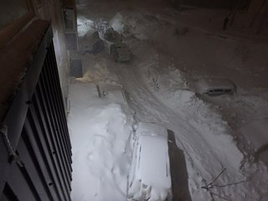 Kamczatka, Rosja - Ogromna śnieżyca -4
