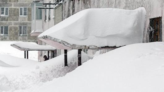 Kamczatka, Rosja - Ogromna śnieżyca -5