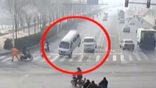 Lewitujące samochody - Chiny