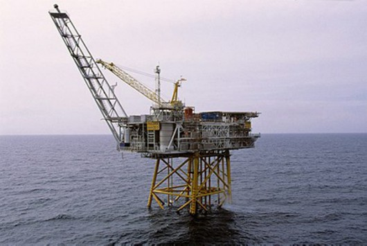 NORWAY-OIL-RIG-OFFBEAT