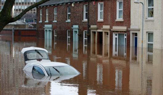 Powódź - UK